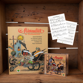 Paket Mimmelitt (CD + Buch + gratis Notendownload)